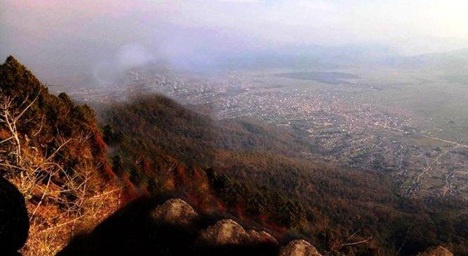कर्णाली प्रदेश राजधानीकाे गढीमा बन्दैछ भ्यूटावर