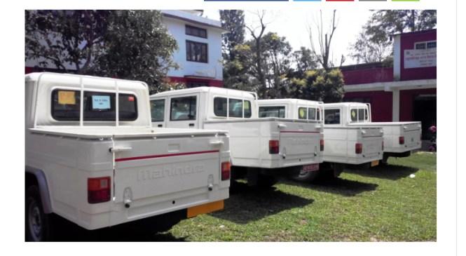 कर्णाली : एक वर्षमा साढे २२ करोड रुपैयाँमा ५४ वटा गाडी