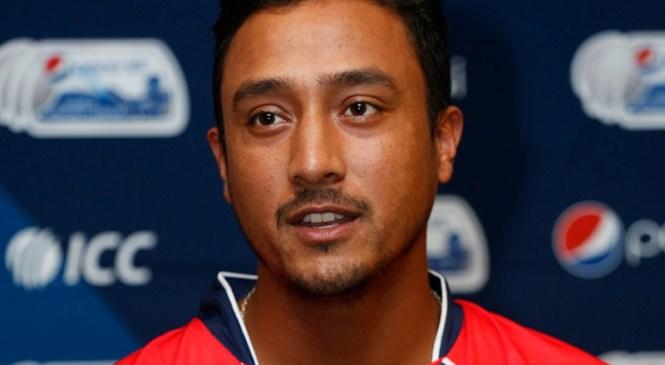 राष्ट्रिय क्रिकेट टिमका कप्तान पारस खड्काद्वारा पदबाट राजीनामा