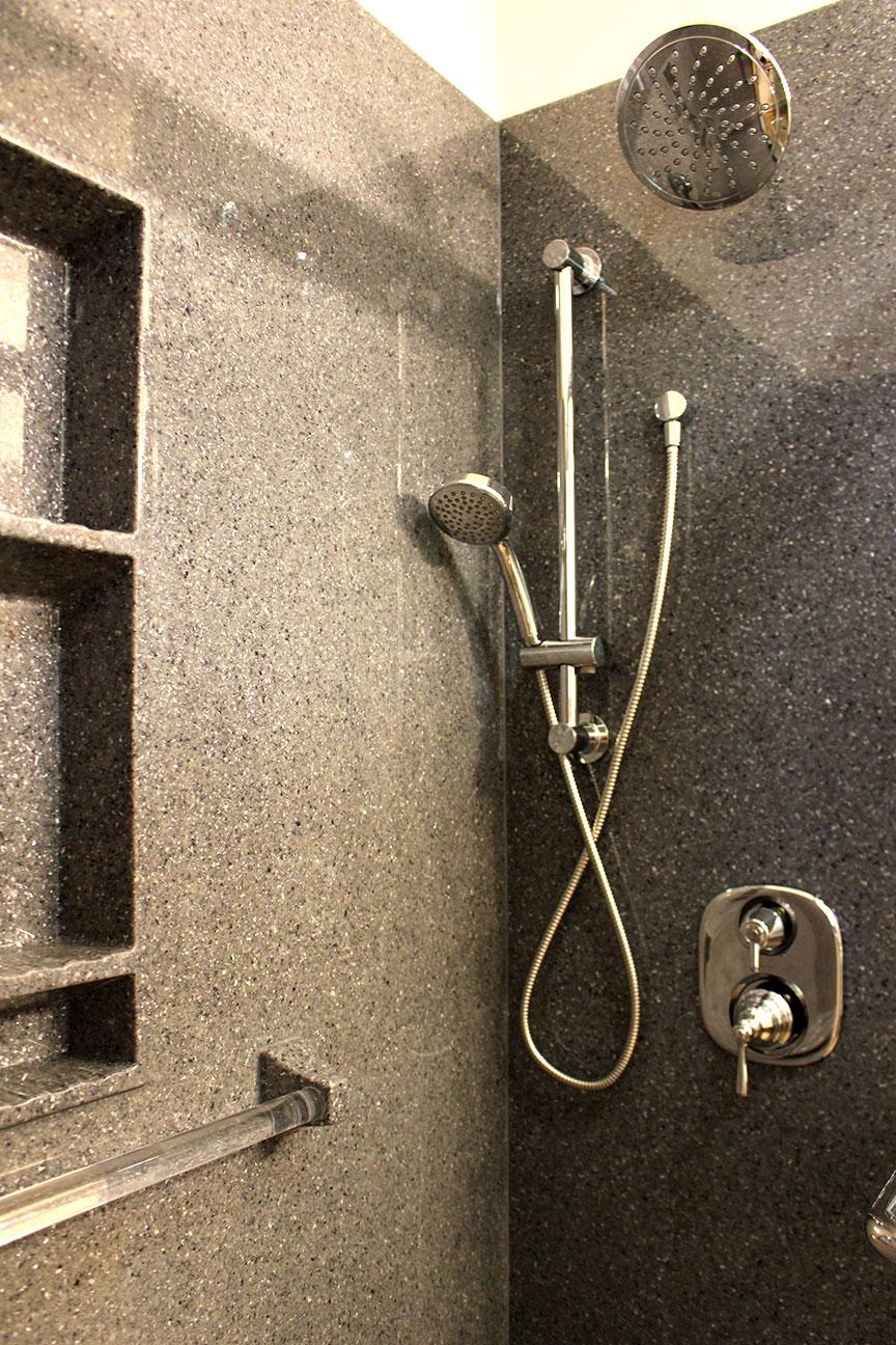 Grey Pearl Onyx Shower