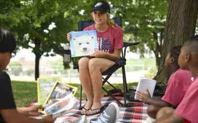 Reading happy to have Teachers in the Parks