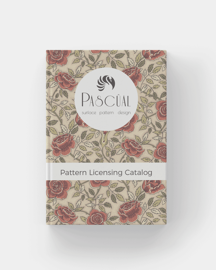 pattern licensing catalog by Pascûal