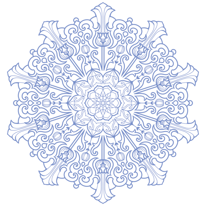 Lesson 3 How to create Mandalas inspired by historical art styles