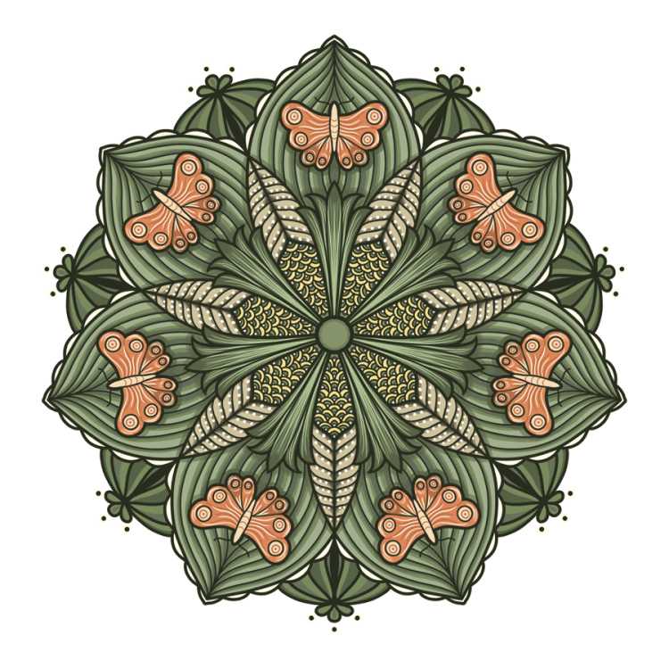 Lesson 4 How to color mandalas with Photoshop