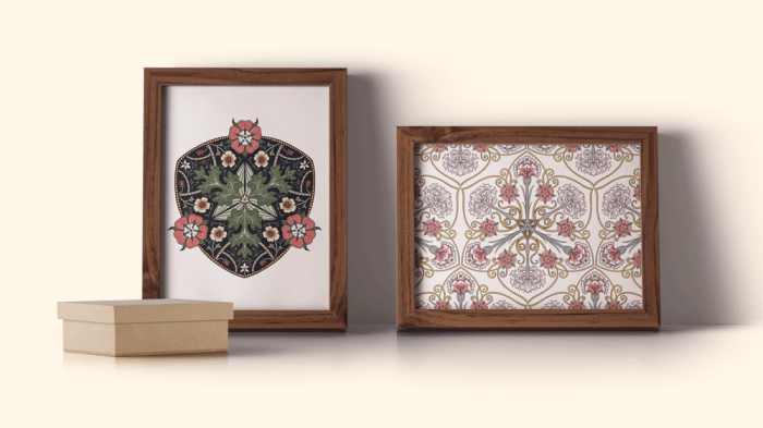 Lesson 5 How to create a print with your mandala designs