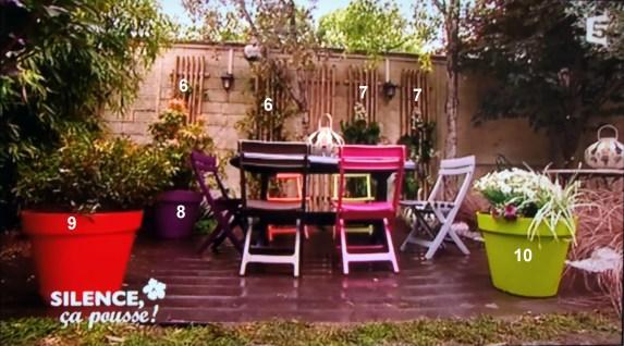 terrasse pot couleur paris