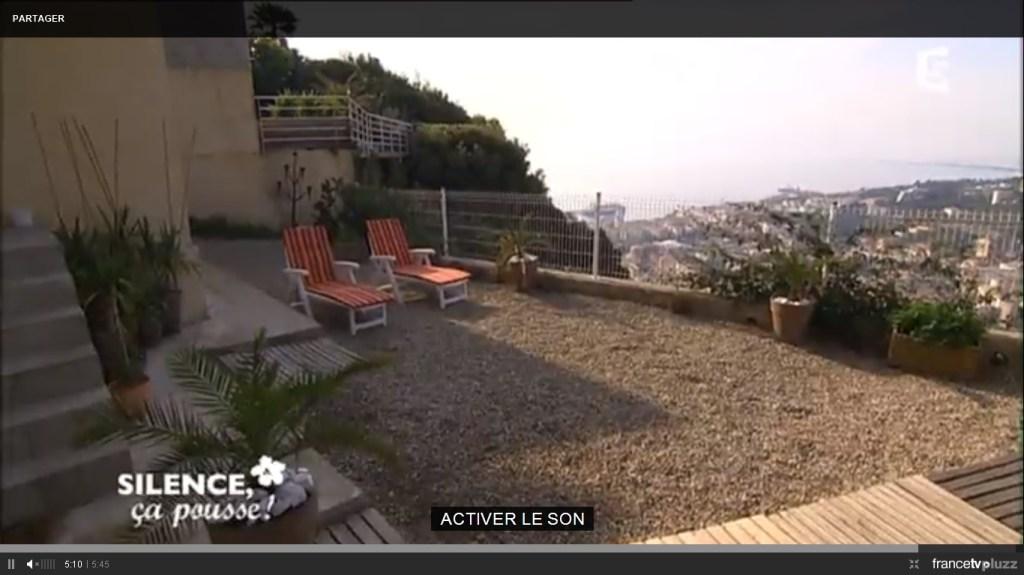 jardin terrasse mediterrannéen avant