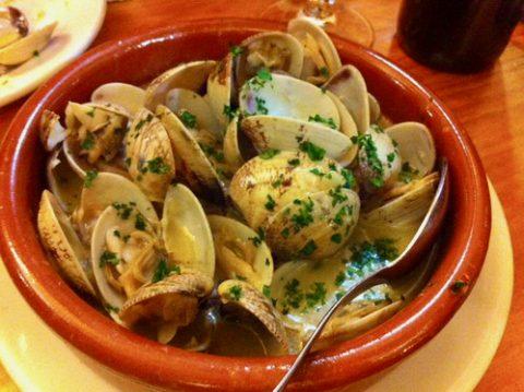 Almejas a la marinera El Paisano Madrid