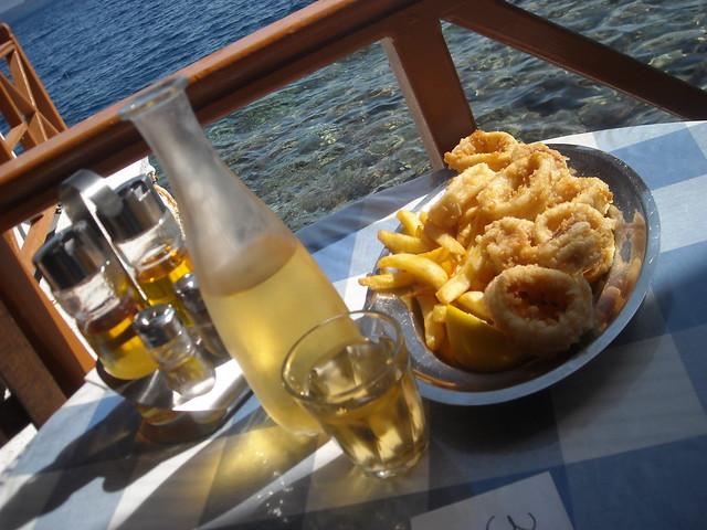 Calamares Grecia