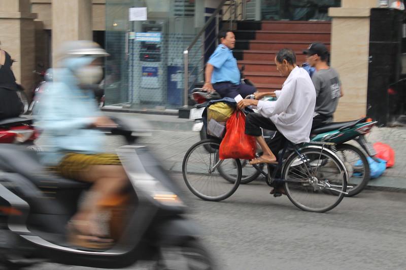 Calles y gentes de Saigón