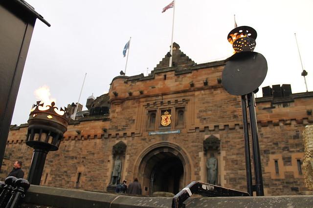 Castillo de Edimburgo Escocia