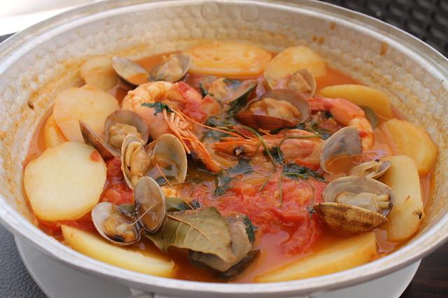 Cataplana de pescados Algarve