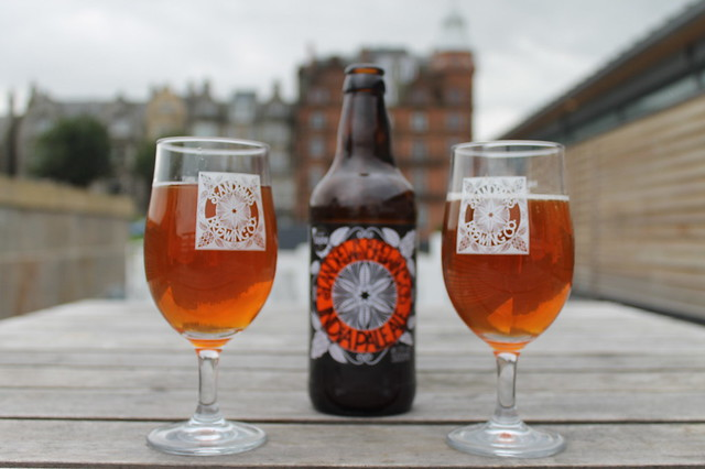 Cervezas en Saint Andrews Escocia