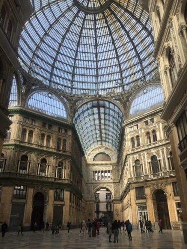 Galería Humberto I Napoles Italia