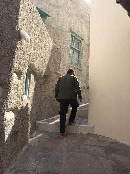 Kastro Chora Naxos Grecia