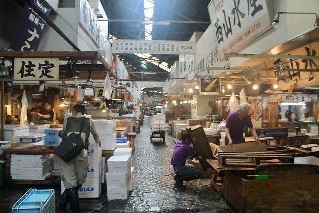 Mercado de Tsukiji Tokio