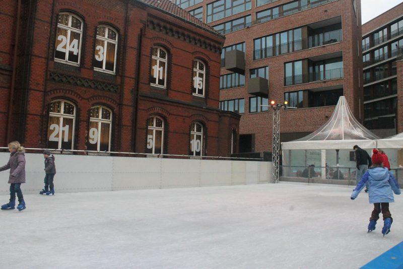 Pista de patinaje Hamburgo