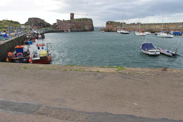 Excursiones desde Edimburgo Puerto de Dunbar Escocia