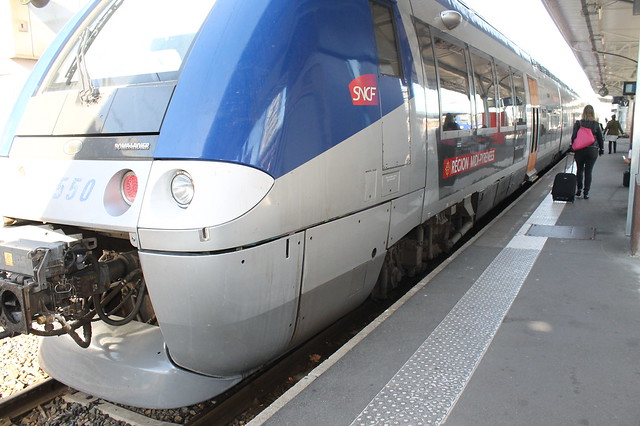 Tren Touluse Albi Francia