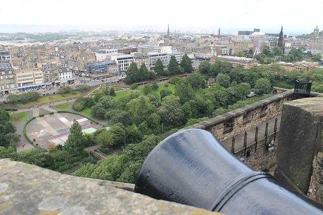 Vistas Castillo de Edimburgo Escocia