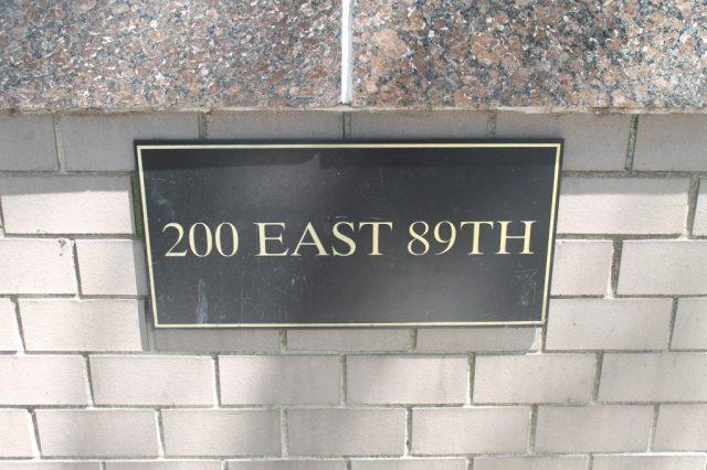 200 East 89th Nueva York