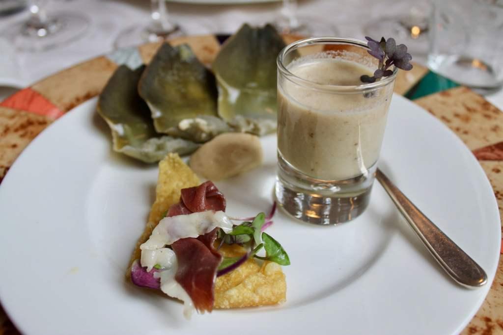Aperitivos Restaurante L'Art de Vivre Spa Belgica