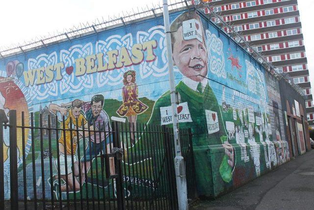 Calles del oeste de Belfast
