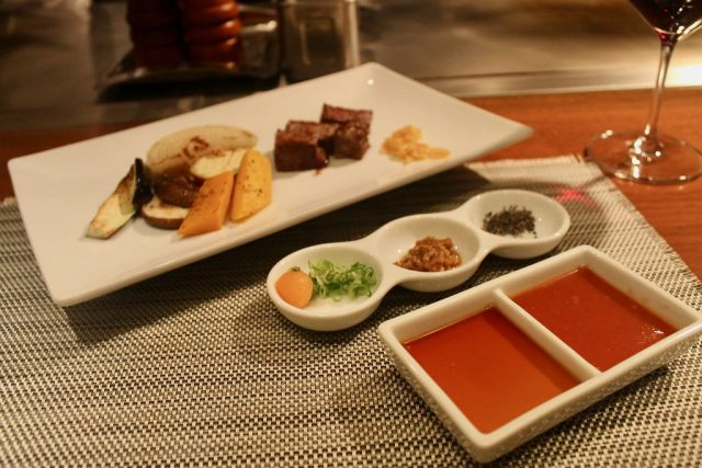 Carne de Kobe en Kobe Plaisir