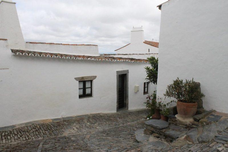 Casas blancas Monsaraz Portugal