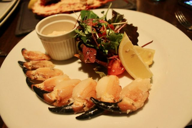 Crab claws with Marie Rose The Seafood Bar Kirwan's Galway