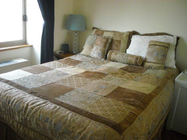 Dormitorio apartamento Nueva York