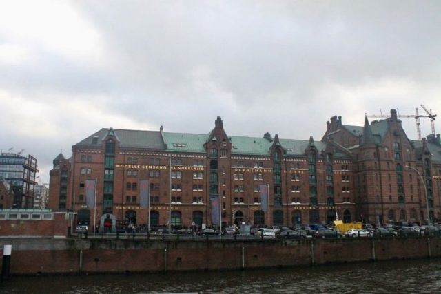 Edificio de Miniatur Wunderland Hamburgo