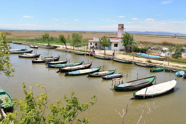 Embarcadero de El Saler Valencia