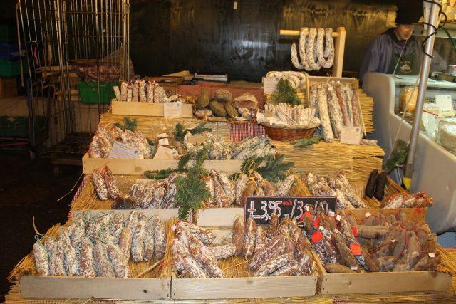 Embutidos Borough Market Londres