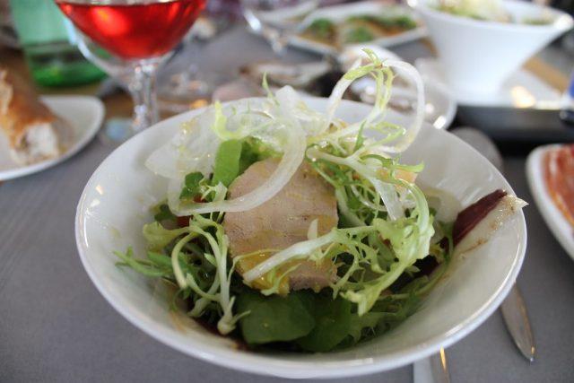Ensalada de foie Basque Culinary Center