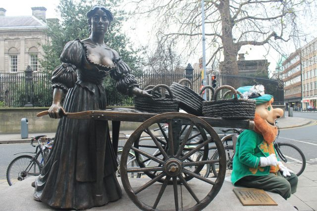 Estatua de Molly Malone