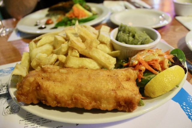 Fish and chips Mc Donagh's Galway