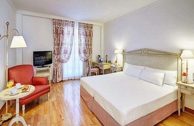 Habitacion Hotel Sercotel Villa de Laguardia
