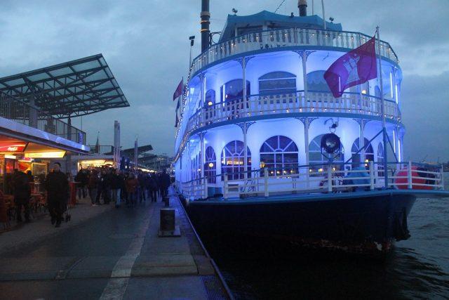 Puerto de Hamburgo para viajar en fin de año