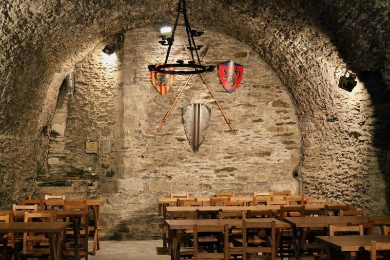 Interior castillo La Roche en Ardenne Belgica