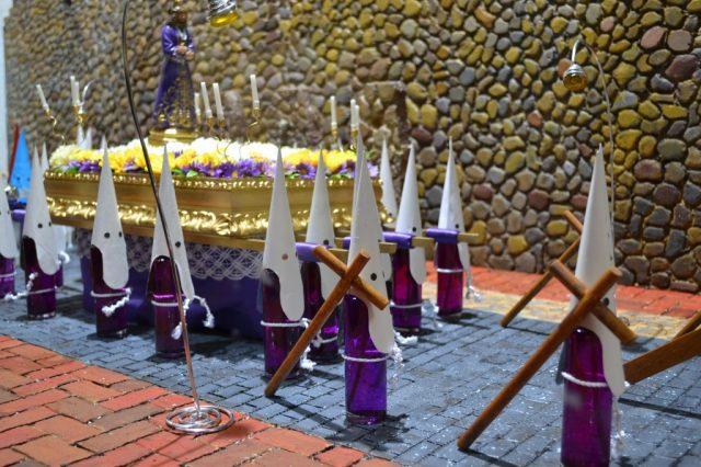 Papones en procesion