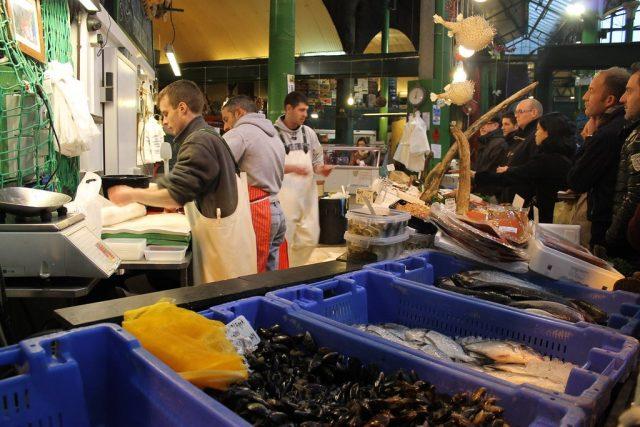 Pescaderia Borough Market Londres