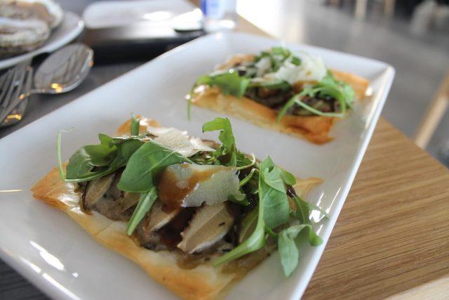 Pizza de hongos Basque Culinary Center