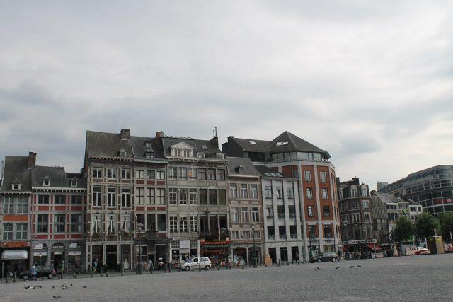Place Saint Lambert Lieja Belgica