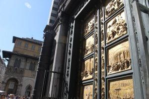 Detalle Puerta del Paraíso Florencia