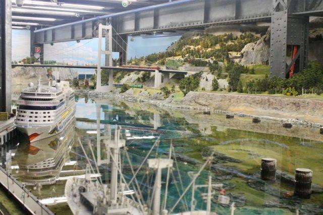 Puerto de Bergvik Miniatur Wunderland