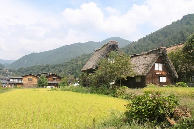 Shirakawa-go Japon