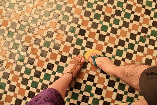 Suelo Museo de Marrakech