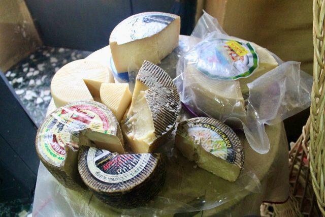Tabla quesos La Fernandica Ledesma