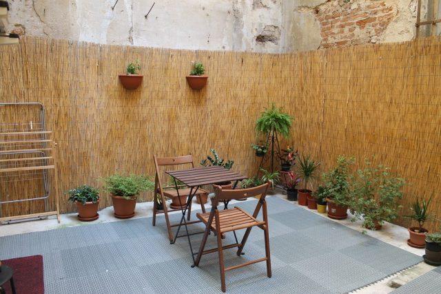 Terraza apartamento en Florencia